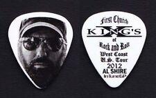 King's X Al Shire Guitar Tech Guitar Pick - 2012 Tour