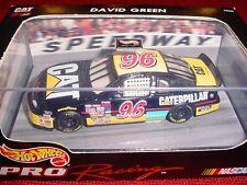 BRAND NEW NASCAR HOT WHEELS PRO RACING DAVID GREEN #96 CATTERPILLAR RACING