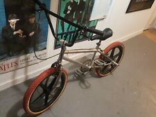 Old school chrome Gt bmx bike 1980