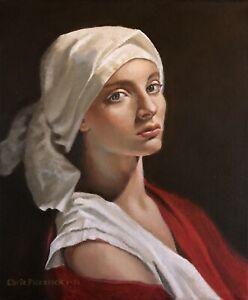 Hand Painted Portrait