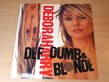 Deborah Harry/Def Dumb & Blonde/1989 Chrysalis LP/Blondie/Debbie