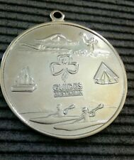 Girl Guides Silver Medal