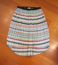 Country Road Polyester Pleated Regular Size Skirts for Women