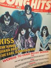 Song Hits January 1980 Magazine-KISS/Kinks/Diana Ross/Earl Scruggs Revue