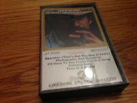 """JIM CROCE """"TIME IN A BOTTLE JIM CROCE'S GREATEST LOVE SONGS"""" CASSETTE"""