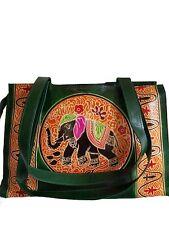 Tribal Ethnic Boho Shoulder Bag Purse Handbag/Vintage Elephant Bag