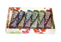 WOW 12 Large Glitter Gel Cones in gift box - Henna Tattoo Gilding- Face Paint jx