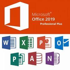 Microsoft Office 2019 Professional Plus 32/64 BIT Vollversion Deutsch / English