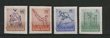 YUGOSLAVIA-MNH- IMPERFORATED SET POSTER STAMPS-SPORT-BASKETBALL