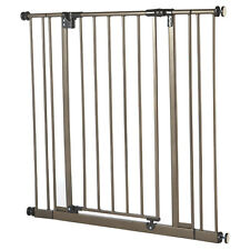 North States Extra Tall Easy Close Hard to Climb Child/ Pet Gate, Bronze | 4912S