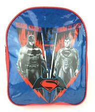 Oficial Batman Vs Superman Niños Mochila Bolso Escolar Guardería NUEVO