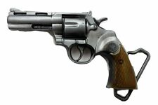 Hand Gun Belt Buckle pistol revolver cowboy six shooter NRA