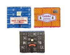 Satya - Nag Champa, Goloka,  Super Hit, Super Sandal Räucherkegel - Dhoop Cones
