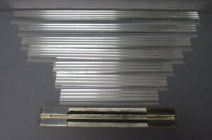 Glenn Snyder Aluminum Wall Display Shelves & 1 Custom Track Cleaner (8)