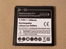 New HTC 1800mAh Battery BG86100 Replacement for SENSATION 4G AMAZE 4G Radar 4G