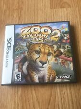 Zoo Tycoon 2 Nintendo DS NDS Cib Game XP2