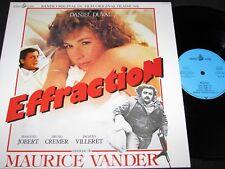 MAURICE VANDER Effraction / German Soundtrack LP 1983 OCEAN WIDE OCW 8301