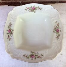Rosenthal Classic Rose  SQUARE SERVING BOWL Sanssouci rose