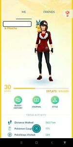 Pokemon-Account Go Level 30 | 51x Mythical & Legendary Pokémon