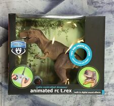 NEW SEALED ANIMATED RC T-REX REMOTE CONTROL DINOSAUR THE BLACK SERIES