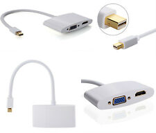 mini Displayport a HDMI VGA Cable adaptador  Mac Book Pro Aire, Microsoft