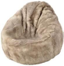 éco bébé agneau Pouf Mélange court laineux bean bag