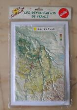 Carte en Relief, La Vienne, 86, Géorelief, Départements