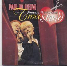 Paul De Leeuw&Simone Kleinsma-Tweestrijd cd single