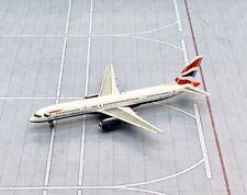 NG model 1/400 British Airways Boeing 757-200 G-CPES Union Jack metal miniature