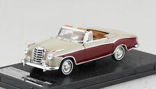Mercedes Benz 220SE Cabrio grau rot 1958 1:43 Vitesse Modellauto 28627