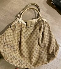 GUCCI Sukey Monogram GG LARGE Shoulder Tote BAG - 100% Authentic - Canvas