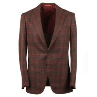 Isaia Windowpane Check Soft-Woven Wool and Cashmere Sport Coat 38 R (Eu 48)