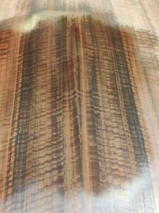 QUARTERED FIGURED FUMED EUCALYPTUS 4' X 8'  10 MIL PAPER BACKED VENEER SHEET.