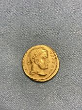 More details for roman  lucinius gold coin
