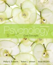 Psychology: Core Concepts, 7th Edition by Zimbardo, Philip G., Johnson, Robert