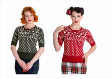 Christmas 3/4 Sleeve Jumpers & Cardigans for Women