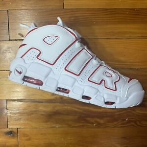 Nike Air More Uptempo 96 White Red 921948-102 size 13