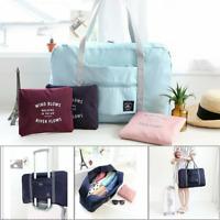 Foldable Big Travel Storage Luggage Carry On Organizer Hand Shoulder Duffle Bag