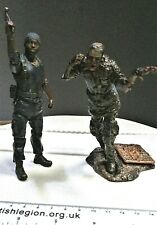 McFarlane Toys The Walking Dead Tyreese and zombie figurine AMC Zombies