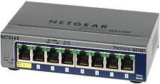 NETGEAR ProSafe Gs108tv2 8 Port Gigabit Smart Switch