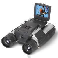 Hammacher Best Digital Camera HD Video Cam Binoculars Digital 8X32 5 MP HD Video