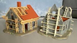 Vintage Faller Model Houses for Railway/Town Models