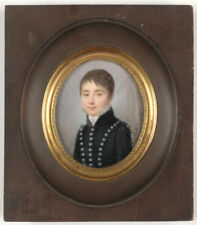 "Jean Pierre Feulard ""Portrait of Louis Charles Moreau as a boy"", fine miniature"