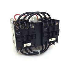 Reversing Contactor CAUM3-9-01P Sprecher+Schuh 110VAC 4kW NC CA3-9-01-110VAC