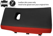YELLOW STITCH REAL LEATHER GLOVE BOX LID COVER FITS CORVETTE C6 2005-2013