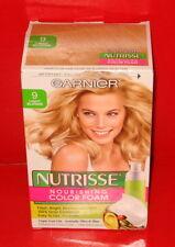 GARNIER NUTRISSE NOURISHING COLOR FOAM ~ PERMANENT ~ # 9 Light Blonde