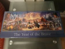 Sealed/New Year of the Brave Triple Puzzle. 1 X 1000 + 2 X 500 Pieces. Express G