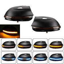 2X LED Dynamic Turn Signal Light Mirror Indicator For VW Passat B7 Scirocco EOS