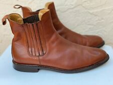 Cortina Vintage Beatles Chelsea Ankle Boots Made In Italy Sz 46