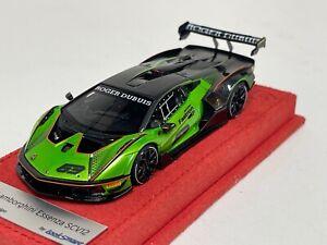 1/43 Looksmart Lamborghini Essanza SCV12 Launch Version  Alcantara Base  LS527
